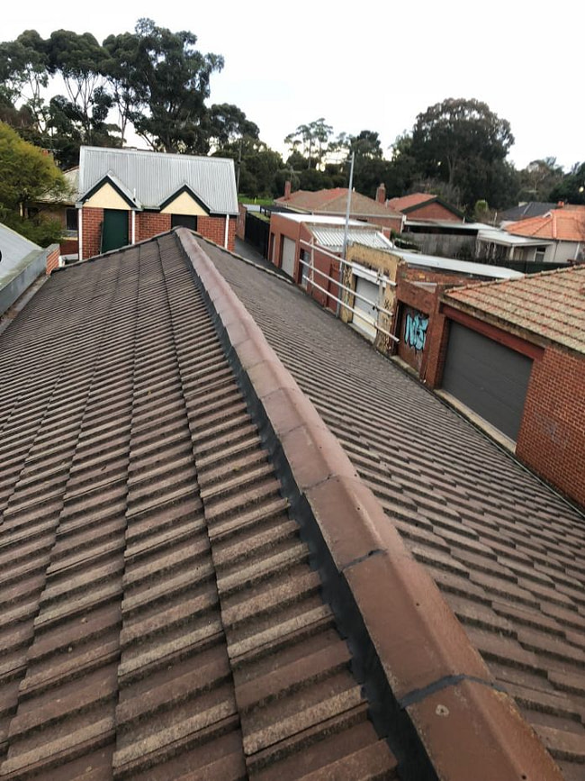 Oates roofing ridge cap replacement