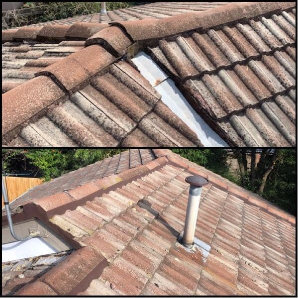 Oates roofing tile replacement