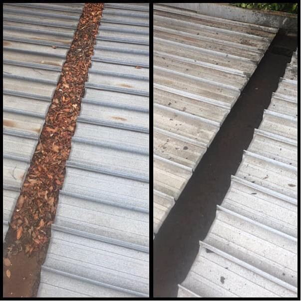 Roof Leaks from blocked valley flashing on cliplock roof