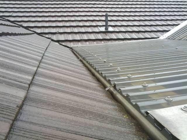 Roof Maintenance on laserlight roof