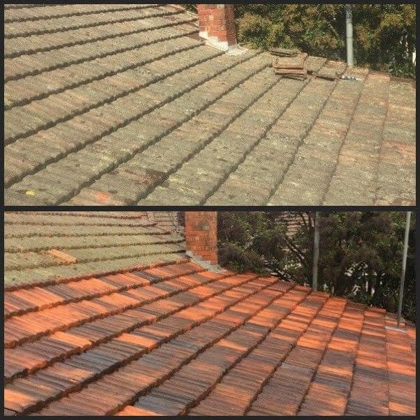 Oates roofing cement tile replacement