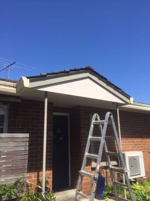 Replacing a gable