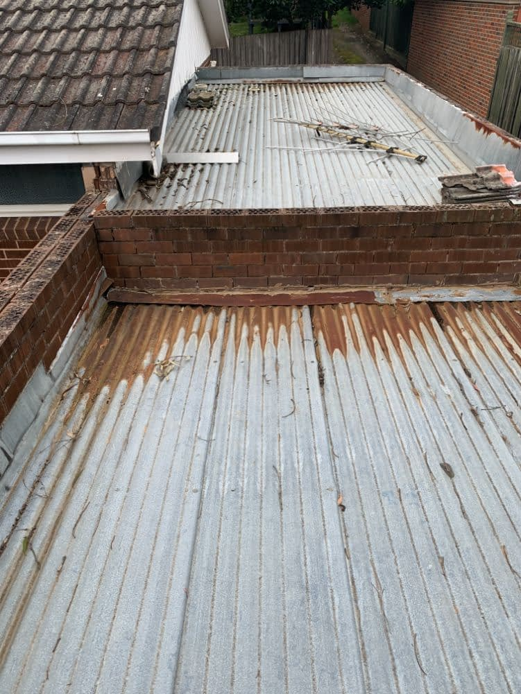 Garage roof replacement Canterbury, Oates Roofing and Maintenance