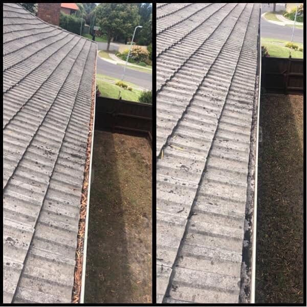 Oates Roofing gutter replacement